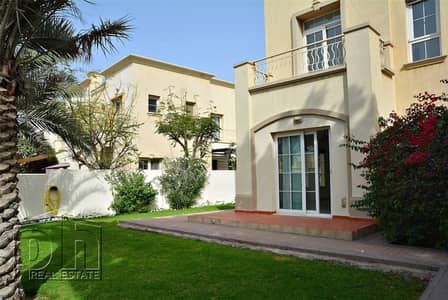3 Bedroom Villa for Rent in The Springs, Dubai - Vacant 3E   Road View   October