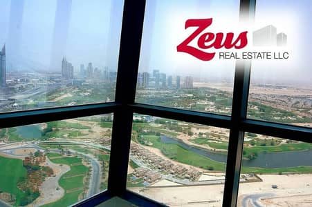 Office for Rent in Jumeirah Lake Towers (JLT), Dubai - Golf Course View | Corner Office|Glass Partitions