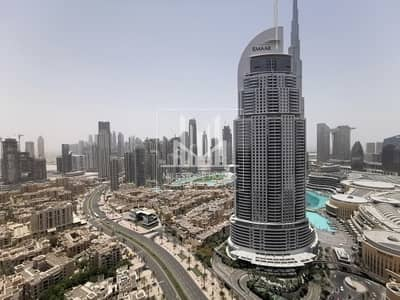 2 Bedroom Apartment for Rent in Downtown Dubai, Dubai - Spacious and Bright 2BR   Close to Metro Station