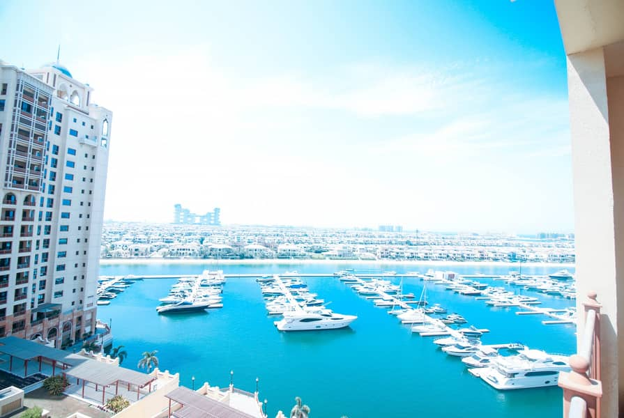 Sea View|2-Bedroom apartment in Marina Residence