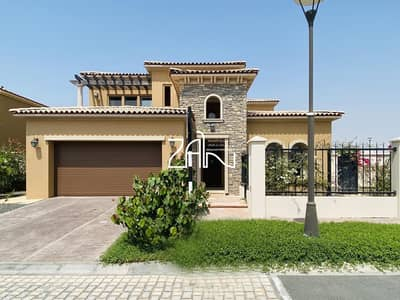 4 Bedroom Villa for Sale in Saadiyat Island, Abu Dhabi - Corner Vacant 4 BR Villa Stand Alone in Peaceful Location
