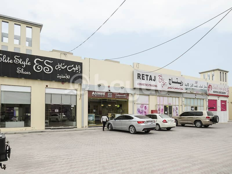 Very spacious shop for rent in a main street in Al Mairid - Ras Al Khaimah , direct from owner .