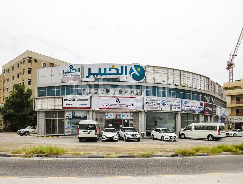 Good Location, Very spacious Office for rent in Al Nakheel Area - No commission