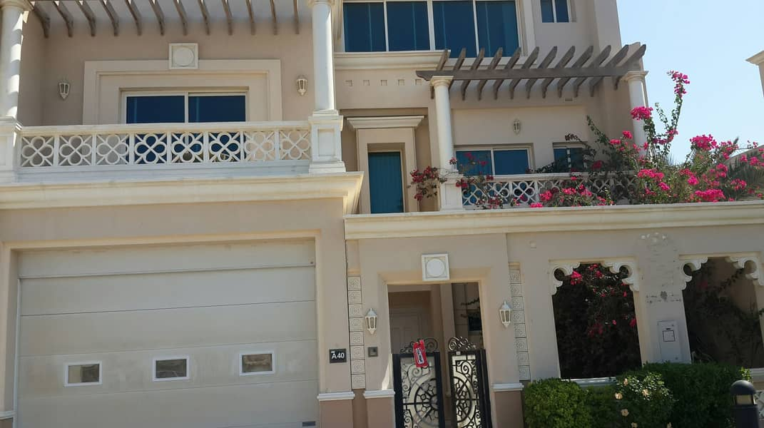 5 bedroom commercial villa for rent at marina mall Area Abu Dhabi .