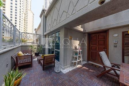 1 Bedroom Villa for Sale in Dubai Marina, Dubai - Unique Duplex Villa | Terrace | Near Metro