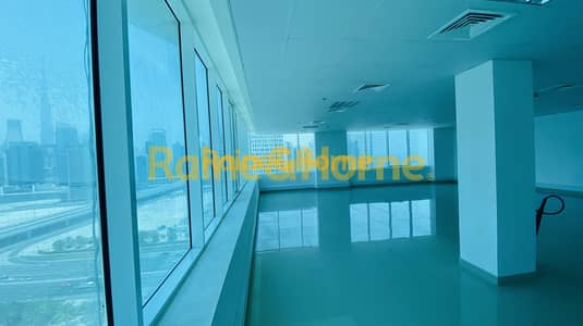 طابق تجاري  للايجار في الخليج التجاري، دبي - Full Floor | Burj and Skyline View | Negotiable