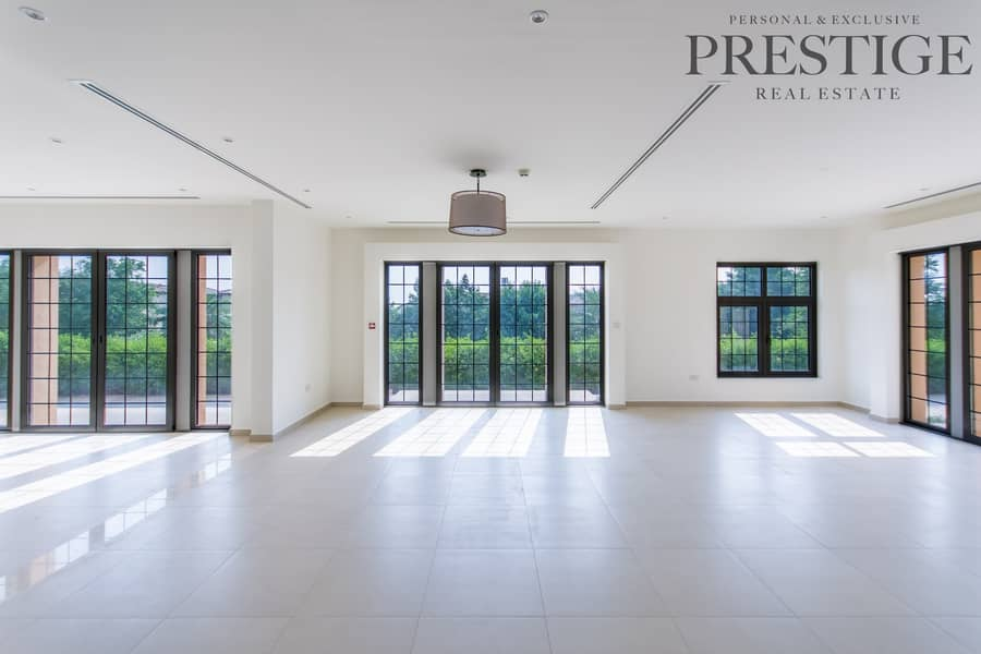2 4 Bed Villa| Available for Rent Now| Whispering Pines | Jumeirah Golf Estate