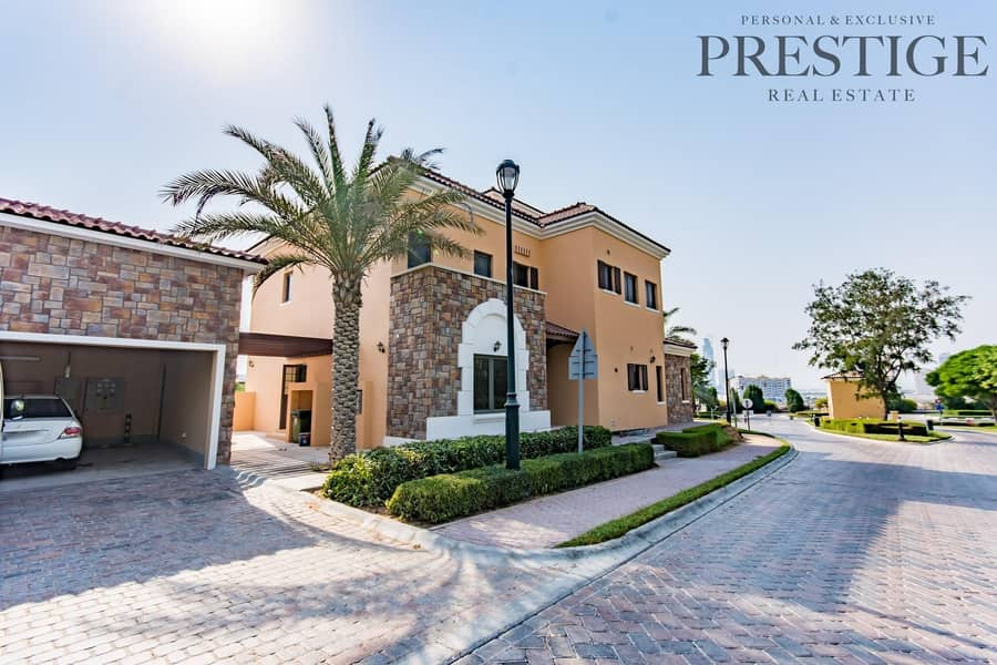19 4 Bed Villa| Available for Rent Now| Whispering Pines | Jumeirah Golf Estate