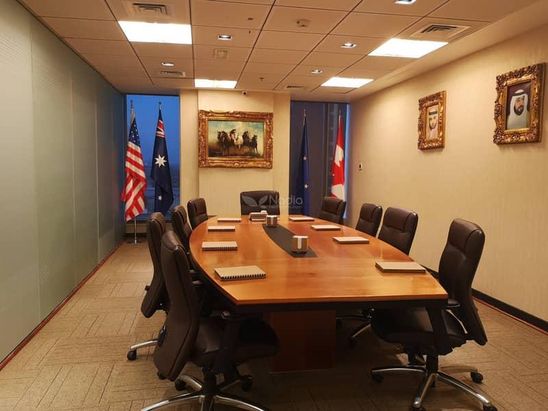 Furnished Office w/ Partitions   Saba 1   JLT