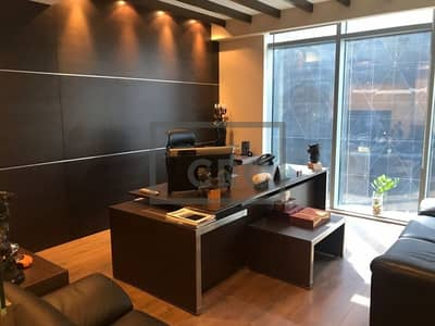Office for Rent in Business Bay, Dubai - Italian Furniture | Fitted Office | Business Bay