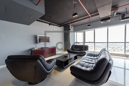Fully fitted furnished office available for lease in JBC- 5 5