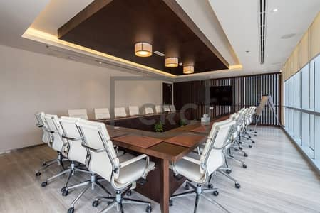 Office for Rent in Dubai Marina, Dubai - Marina Plaza | Fitted Office | Inclusive  Service Charges