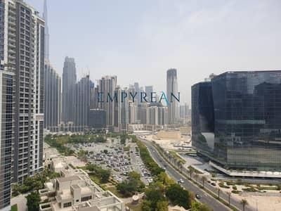 شقة 3 غرف نوم للايجار في الخليج التجاري، دبي - bright best layout open view 3bed+maid for rent