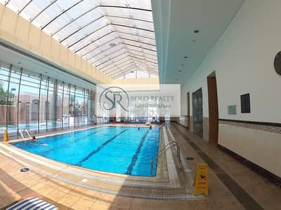 فیلا 4 غرف نوم للايجار في مدينة بوابة أبوظبي (اوفيسرز سيتي)، أبوظبي - NO COMMISSION!!! Elegant 2BR+2Master-room I  Pool I Private Garden