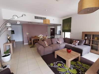 شقة 1 غرفة نوم للايجار في جميرا بيتش ريزيدنس، دبي - Nicely furnished with clean furniture