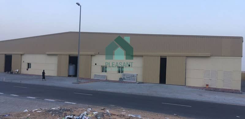 FREEHOLD Brandnew Warehouse Ready for Sale in Sajaa Sharjah