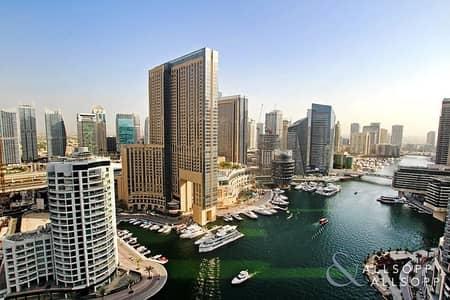 2 Bedroom Flat for Rent in Dubai Marina, Dubai - New Price | Two Bed + Maids | Marina Views