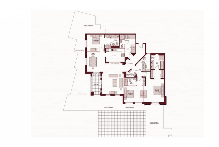 10 3 Beds | Upgraded | Garden | Unfurnished