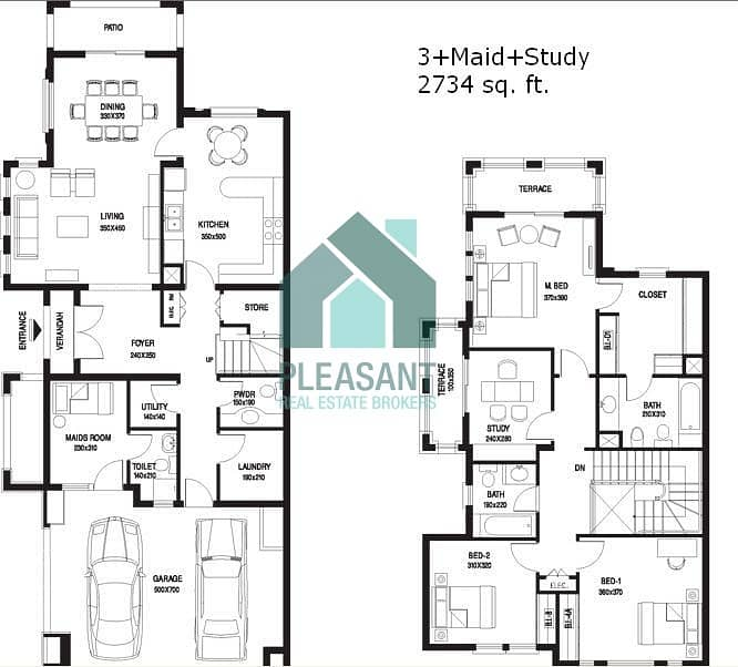16 3 Bedroom Plus Maid's Plus Study For Sale In Springs