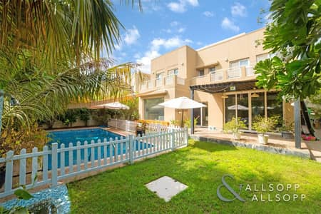 5 Bedroom Villa for Sale in The Meadows, Dubai - Exclusive | Pool & Park Facing | Upgraded<BR/>