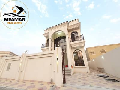 5 Bedroom Villa for Sale in Al Mowaihat, Ajman - brand new villa excellent finishing with very good location opposite mosque.