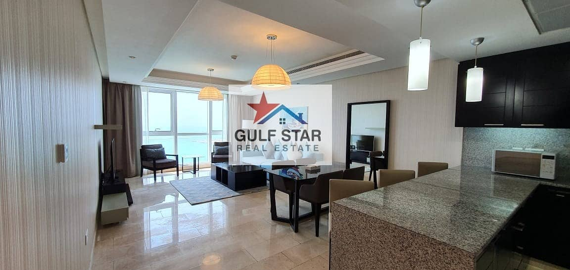 HIGH Class-Furnished-Sea View 2 Bedroom on Saraya,Corniche