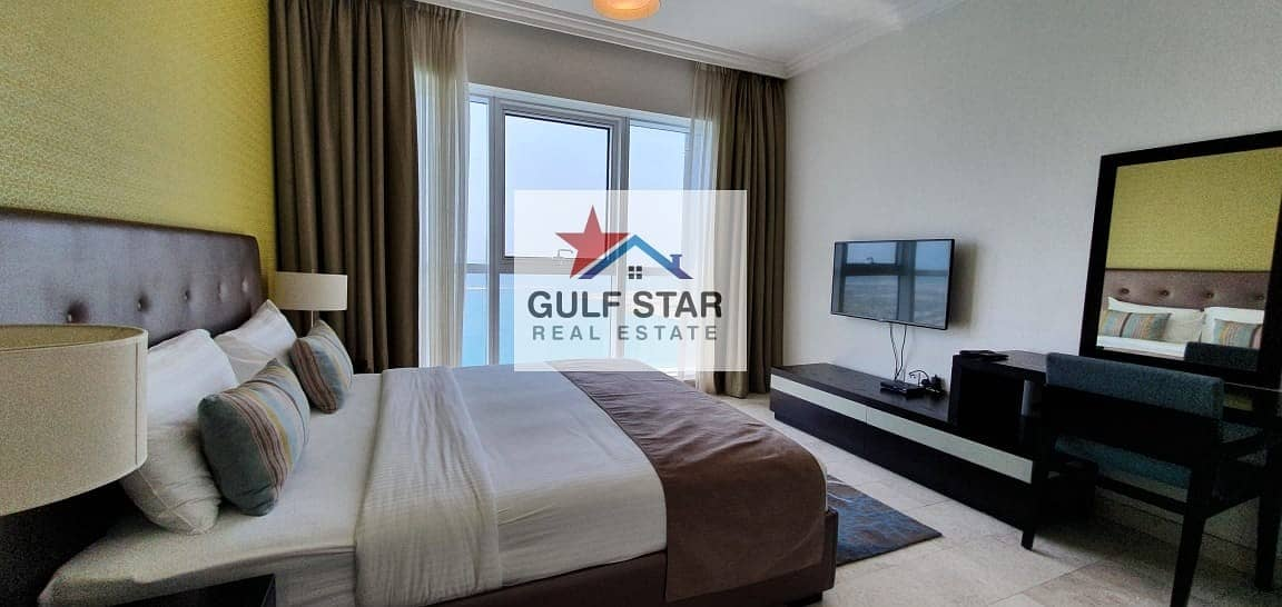 2 HIGH Class-Furnished-Sea View 2 Bedroom on Saraya,Corniche