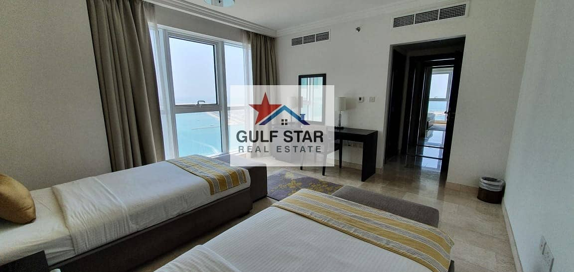 16 HIGH Class-Furnished-Sea View 2 Bedroom on Saraya,Corniche