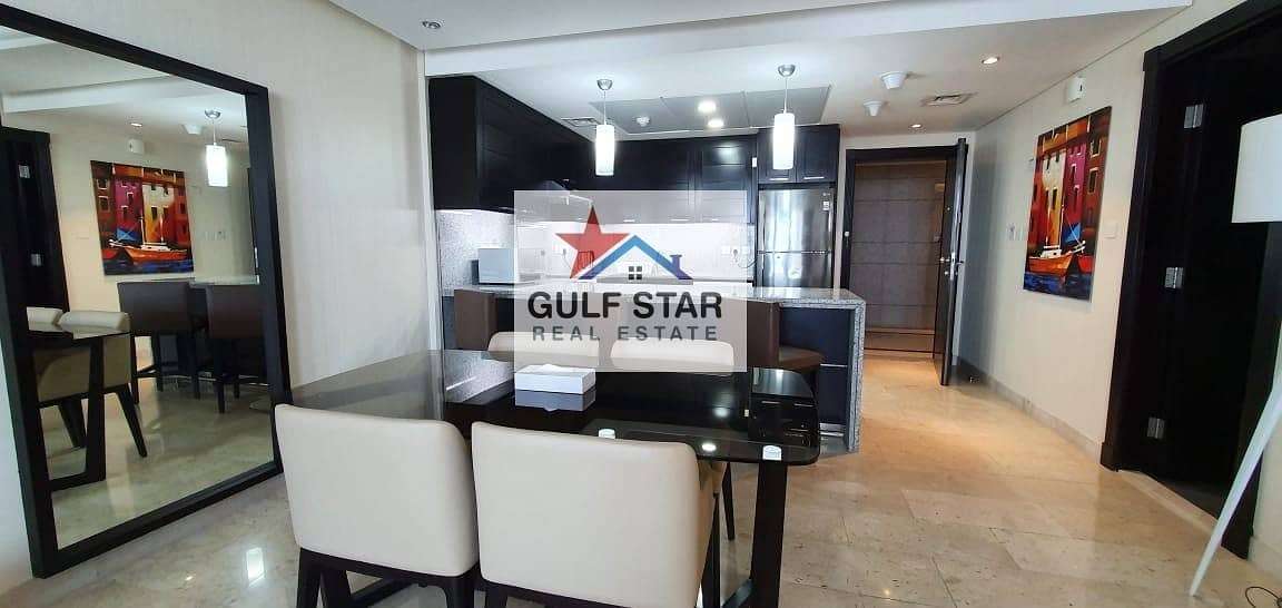 2 Fully Furnished 1 Bedroom with Huge Balcony