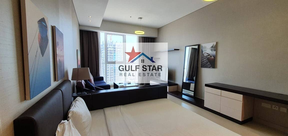 Fully Furnished Studio with Free ADDC and Full Facilities