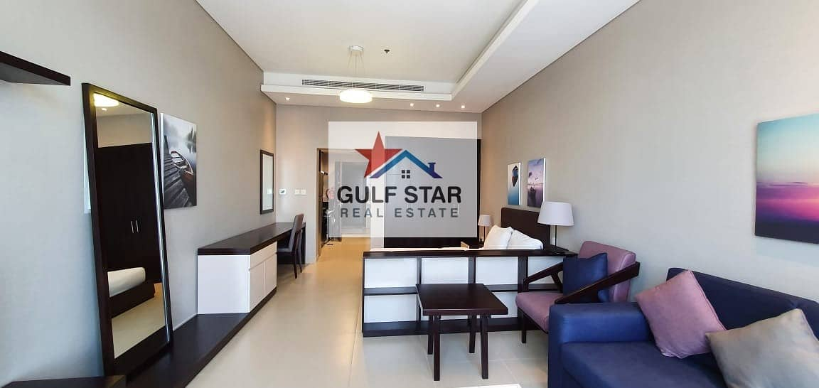 2 Fully Furnished Studio with Free ADDC and Full Facilities