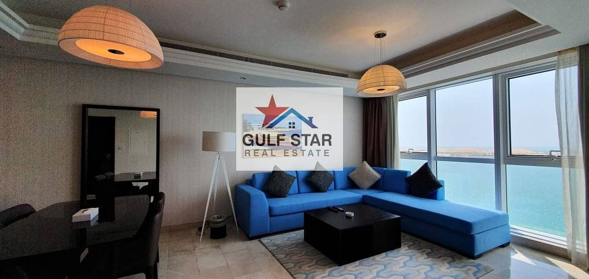 Splendid Sea View - Fully Furnished 1 Bedroom on Corniche