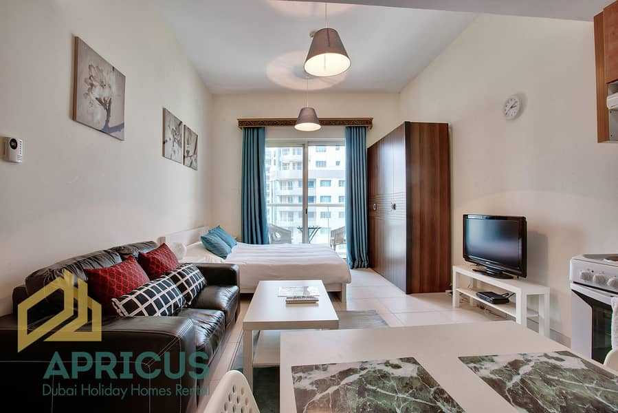 No Commission | Bills Included | Studio Apartment in Marina View Tower
