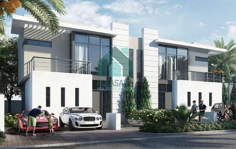 2 6 Bedroom Luxurious Villa for sale in Damac Hills.