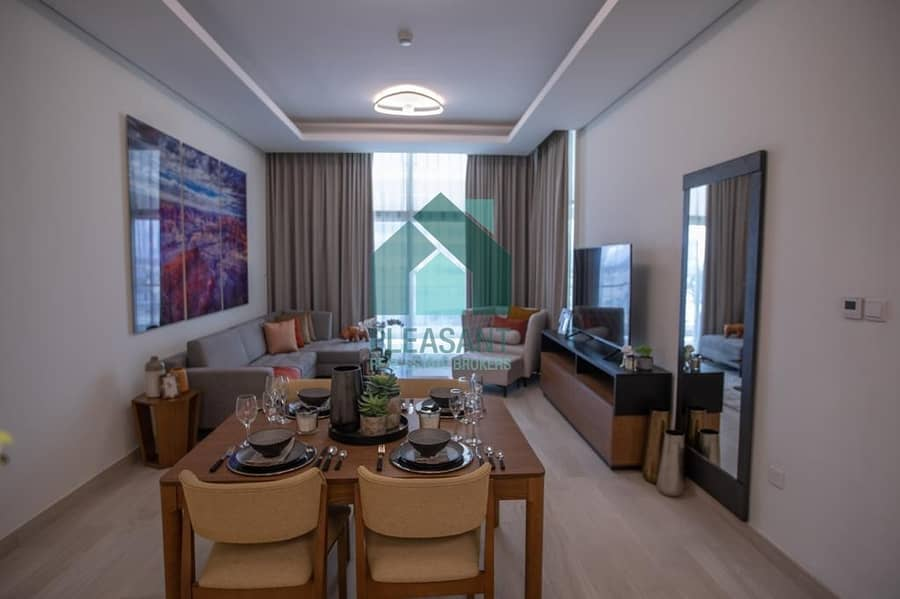 2 Burj View | Spacious 1Br Ready To Move |Near Health Care City