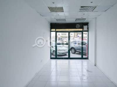 محل تجاري  للايجار في المحطة، الشارقة - محل تجاري في المحطة 18000 درهم - 4739923