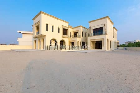 7 Bedroom Villa for Sale in Dubai Hills Estate, Dubai - Splendid Fairway Classical Arabesque Mansion