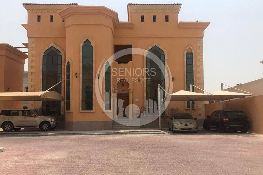 6BR Villa within a compound in Shakhbout