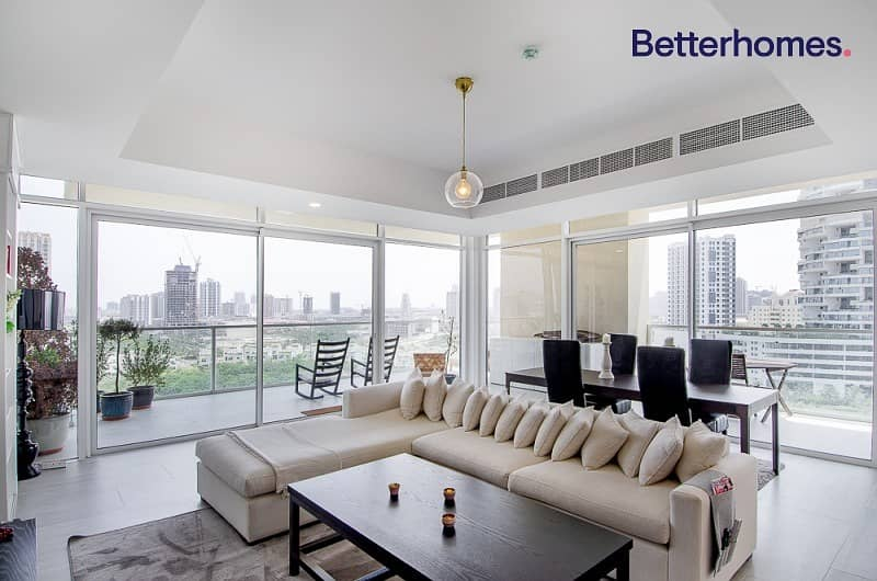 Furnished | 180 Degree View | 2 Parkings