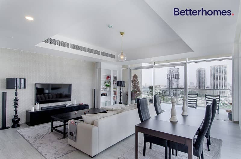2 Furnished | 180 Degree View | 2 Parkings