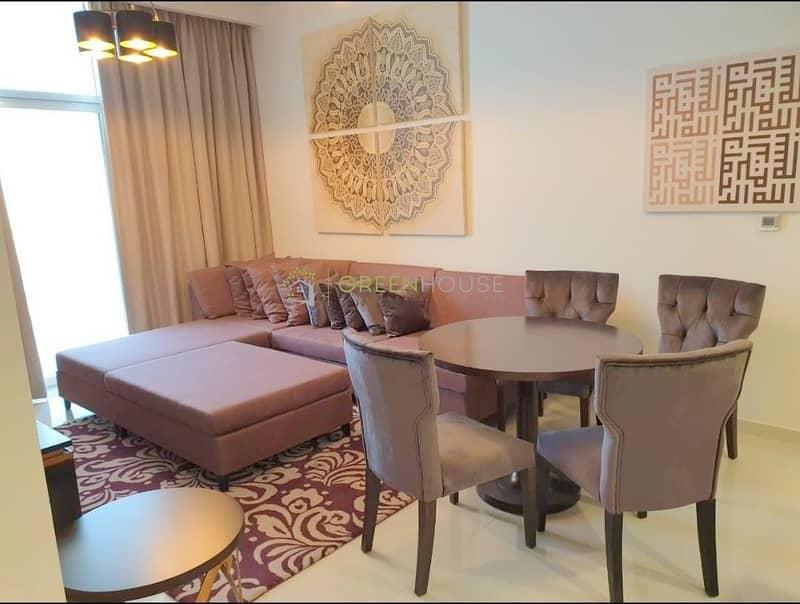 2  Luxurious 1 BRs Hotel Apt with Balcony | Garden View | Ghalia