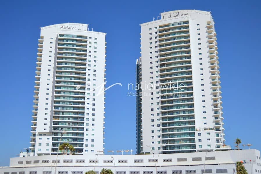 Vacant! Comfortable 2 BR Apartment In Amaya Tower 2