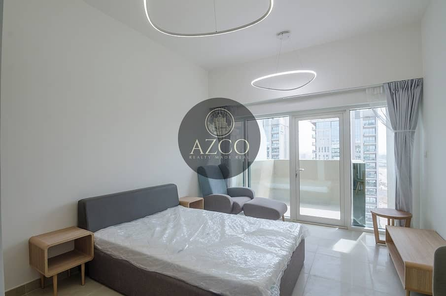 2 Huge Furnished Studio with Balcony and Car Parking
