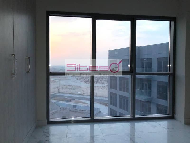 Brand new/ 2 bedrooms/ Unfurnished/ 4 cheques/EXPO