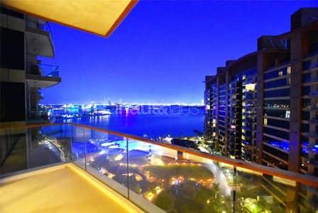 فلیٹ 1 غرفة نوم للبيع في نخلة جميرا، دبي - Large Balcony | Pool + Sea view | Great Condition