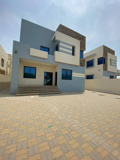 5 Bedroom Villa for Sale in Al Rawda, Ajman - Grab the offer Brand New 5-Bedroom Villa for Sale Spacious and luxury with 5 master rooms ,big majlis+2 hall in Ajman