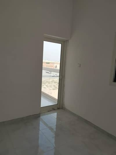 1 Bedroom Flat for Rent in Al Jurf, Ajman - For Rent (1) Bed Room with (2) Bathroom with Palecoony New Buliding with 18000 only