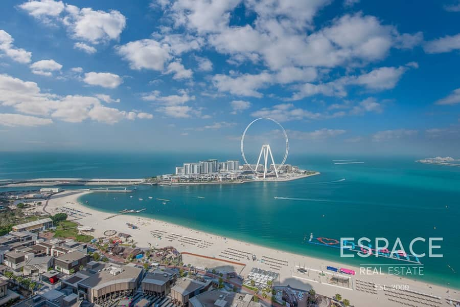 Vacant | Largest 3 Bed | Rimal JBR