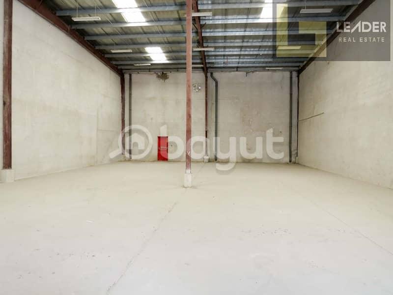 2 1 Month Free l Warehouse 4358 sq ft l DIP-1 l @21 aed per Sq ft l