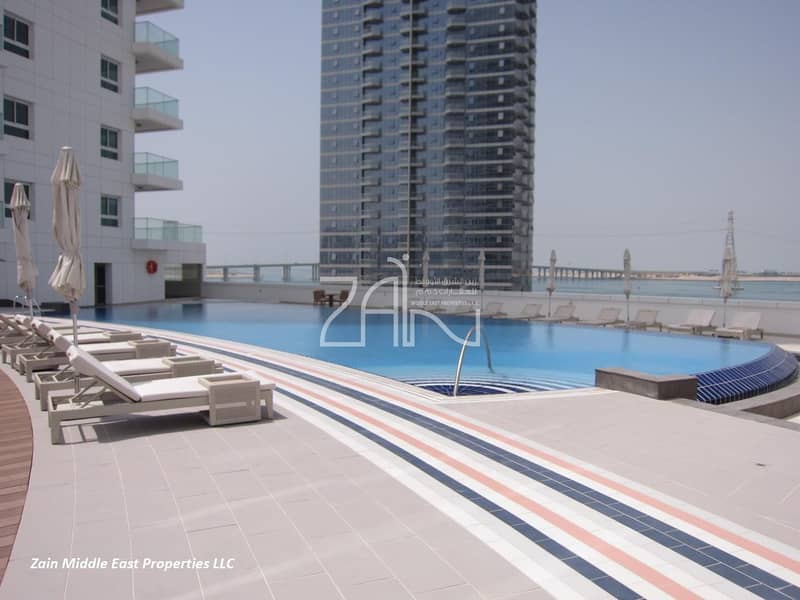 11 Sea View Large 3+M Apt with Balcony and Great Facilities